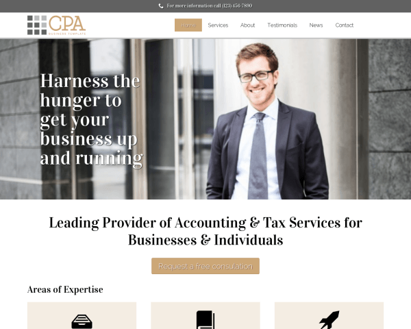 Cpa Wordpress Theme