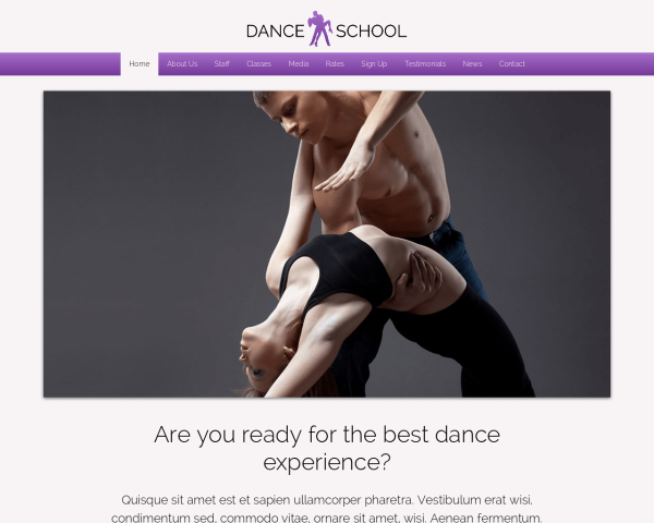 image representation of the Dance School
