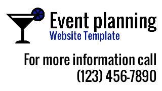 landscape iphone mobile of WordPress theme 'Event Planning Website Template'