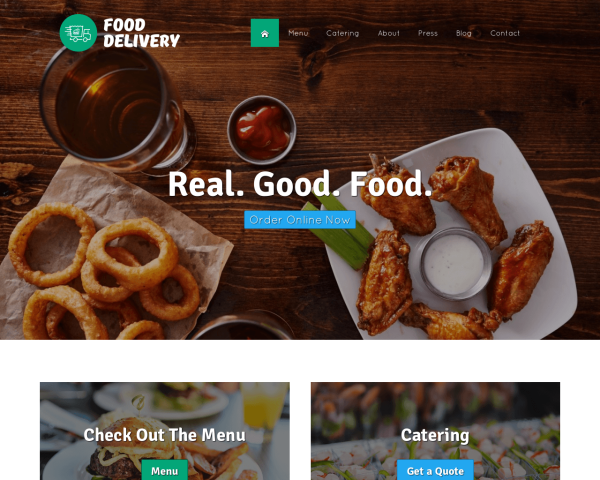 Online Food Ordering WordPress Themes | NexusThemes.com | The #1 ...