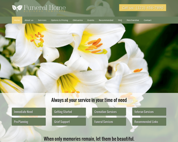 image representation of the Funeral Home