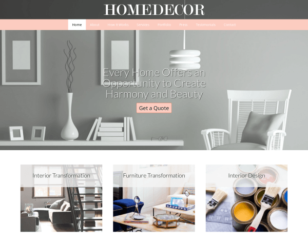 home decor wordpress theme template for interior design great website for lakehouse items cabin 9 design