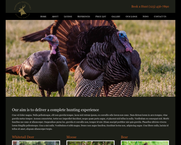 hunting outfitter: