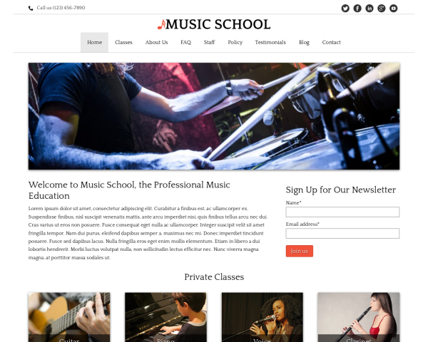 image representation of the Music School