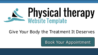 landscape iphone mobile of WordPress theme 'Physical Therapy Website Template'