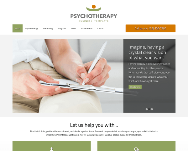 Psychotherapy Wordpress Theme