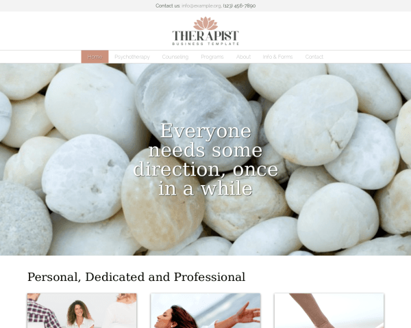 Therapist Wordpress Theme
