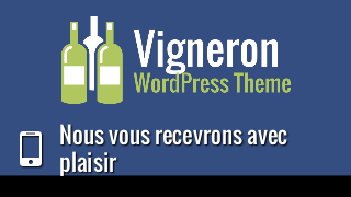 landscape iphone mobile of WordPress theme 'Vigneron Wordpress Theme'