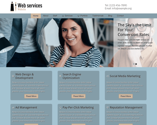 Web Services Website